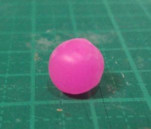 レジン球体‗ピンク