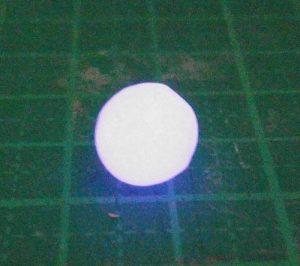 レジン球体‗ピンク光