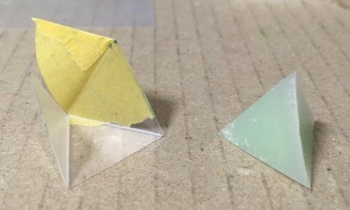 三角錐_型から剥す
