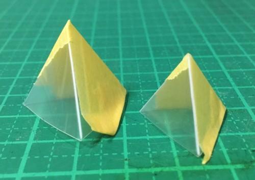 三角錐型比較